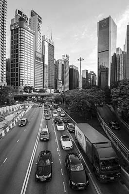 Wan Chai Photograph - Urban Hong Kong by John Leung
