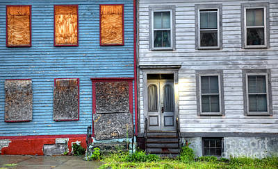 Ghetto Photograph - Urban Housing by Denis Tangney Jr