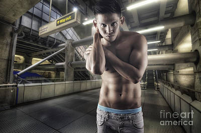 Photograph - Urban Hunk 1.0 by Yhun Suarez