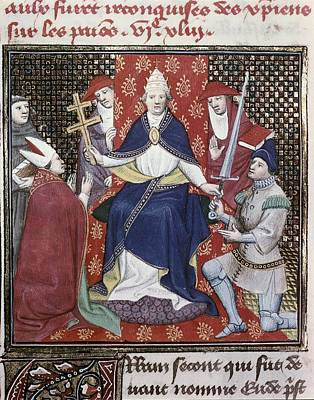 Fine Art Miniatures Photograph - Urban II C. 1035 - 1099. Pope by Everett