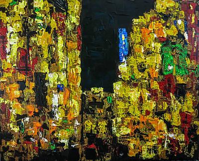 Painting - Urban Insomnia by Joel Tesch