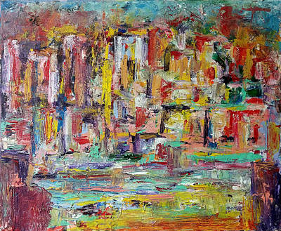 Painting - Urban Landscape by Sotuland Art