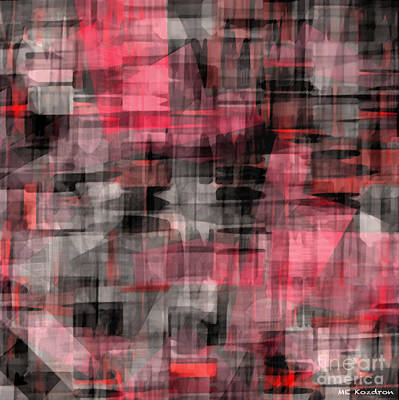 Digital Art - Urban Layers by ME Kozdron
