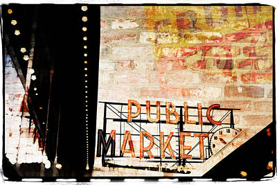 Photograph - Urban Marketplace 1 by Ryan Weddle