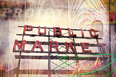 Photograph - Urban Marketplace 3 by Ryan Weddle