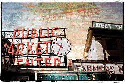 Photograph - Urban Marketplace 6 by Ryan Weddle