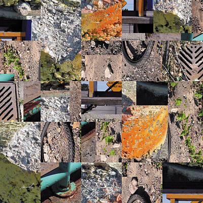 Photograph - Urban Mosaic 1 by The Art of Marsha Charlebois