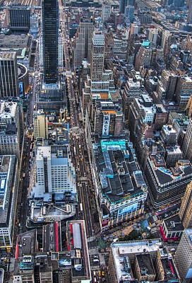 U2 Photograph - Urban New York Part 2 by Alex Hiemstra