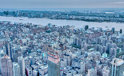 U2 Photograph - Urban New York Part 3 by Alex Hiemstra