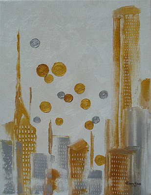 Painting - Urban Polish by Judith Rhue