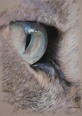 Painting - Urban Predator's Eye by Christopher Reid