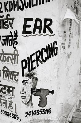 Absurdity Photograph - The Beauty Salon Of Udaipur by Shaun Higson