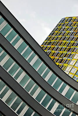 urban rectangles III Art Print by Hannes Cmarits