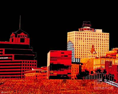 Photograph - Urban Red And Black by Lizi Beard-Ward