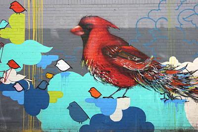 Photograph - Grafitti Art 7                     by Allen Beatty