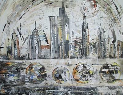 Urban Rumble Art Print