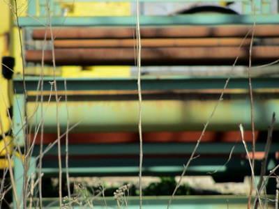 Photograph - Urban Scrap 3 by Anita Burgermeister