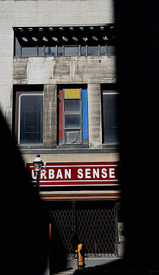 Photograph - Urban Sense 1 by Andrew Fare