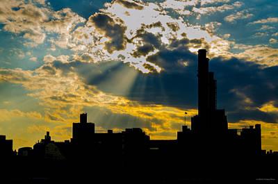 Photograph - Urban Silhouette by Frank Mari