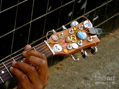 Classic Audio Player Photograph - Urban Strings by Angela Wright