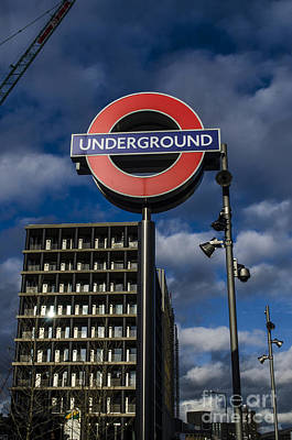 Photograph - Urban Underground London by Deborah Smolinske