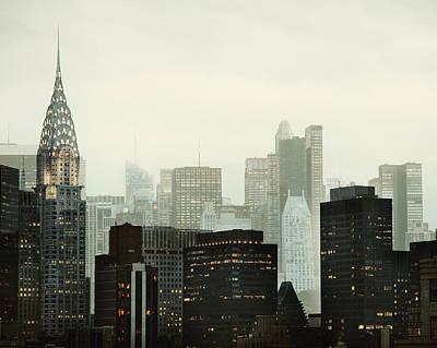 Chrysler Building Photograph - Urban Vernacular by Irene Suchocki