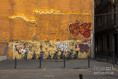 Photograph - Urban Wall Art by Rene Triay Photography
