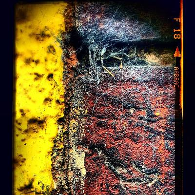 Abstract Wall Art - Photograph - Urban Wall Google Version by Jason Michael Roust
