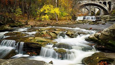 Berea Wall Art - Photograph - Urban Waterfall by William Snyder