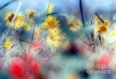 Urban Wildflowers Art Print by Michael Hoard