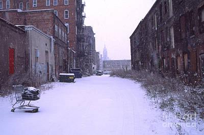 Ghetto Photograph - Urban Winter by Denis Tangney Jr
