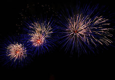 Fireworks Photograph - Urchin by Lester Phipps