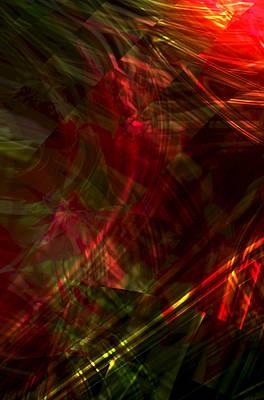 Digital Art - Urgent Orbital by Richard Thomas