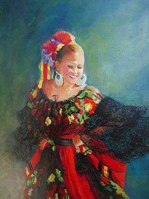 Painting - Urgullo De Sinaloa by Luz Perez