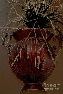 Photograph - urn by Diane montana Jansson