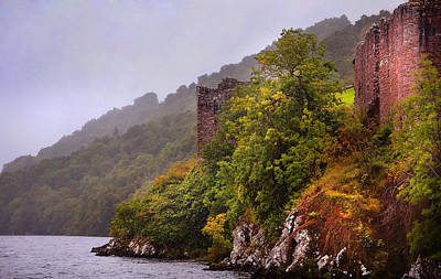 Photograph - Urquhart Castle. Loch Ness. Scotland by Jenny Rainbow