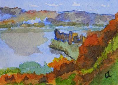 Urquhart Castle Art Print by Warren Thompson