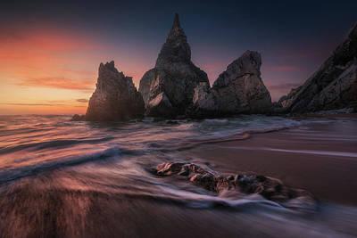Beach Sunset Photograph - Ursa by Carlos F. Turienzo