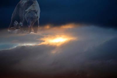 Ursa Major  -  Great Bear Art Print by Kevin Bone