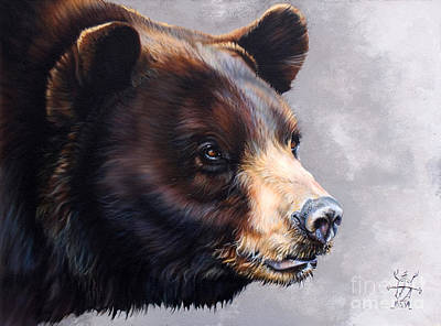 Totems Painting - Ursa Major by J W Baker