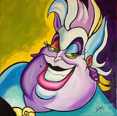 Painting - Ursula  by Susan Cliett