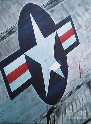 Us Air Force Original by Richard John Holden RA