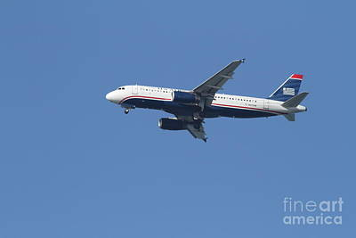 Us Airways Jet 7d21945 Art Print by Wingsdomain Art and Photography