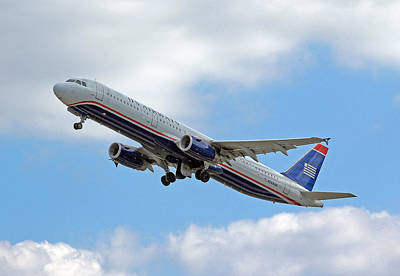 Photograph - Us Airways by Joseph C Hinson Photography