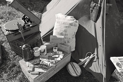 Doughboy Photograph - Us Army Rations by Maj Seda