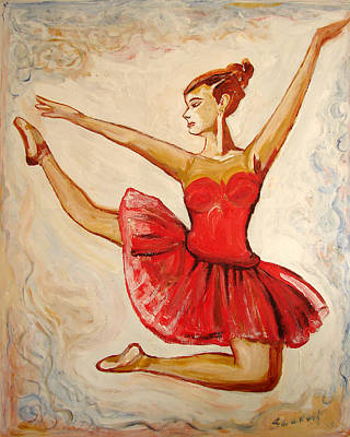 Painting - Us Ballet Dance-15 by Anand Swaroop Manchiraju
