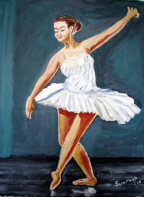Painting - U.s Ballet Dance-9 by Anand Swaroop Manchiraju