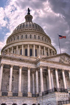Photograph - Us Capitol 2 by Jonathan Harper
