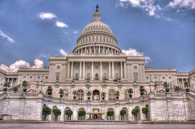 Photograph - Us Capitol by Jonathan Harper