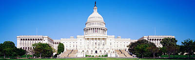 Senate Photograph - Us Capitol, Washington Dc, District Of by Panoramic Images